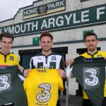 Three sponsor Plymouth Argyle away game