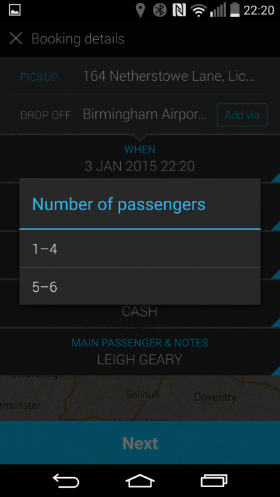 Quick and easy taxi rides   Addison Lee app reviewed