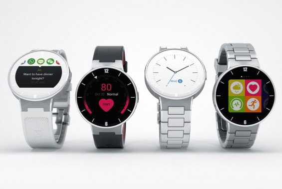 CES   Alcatel announce iOS/ Android smartwatch