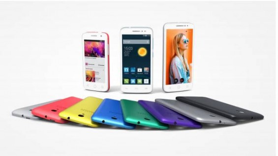 alcatel onetouch pop 2 family CES 2015
