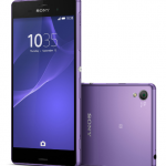 Soft Purple Xperia Z3 available from Carphone Warehouse