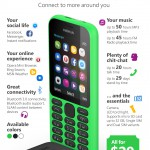 CES – Nokia 215 announced. Welcome back, Microsoft smartphone