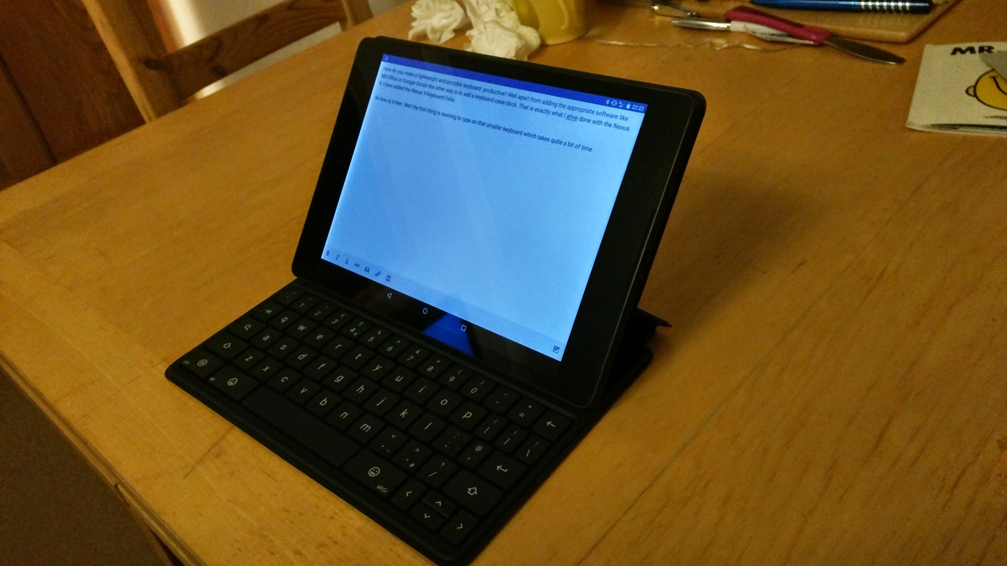 Nexus 9 Keyboard Folio Review