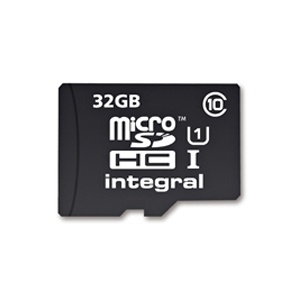 Integral 32GB microSD card now £8.49 with free delivery