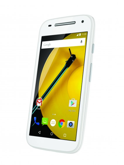 Moto E LTE (2nd Gen.) Front Dynamic   White