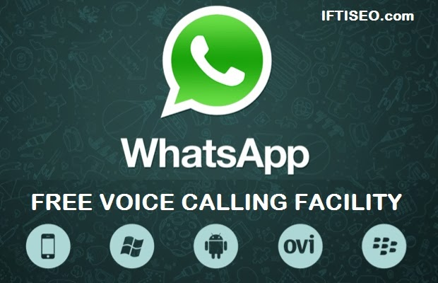 WhatsApp rolling out voice calling features