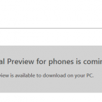 Microsoft confirm that Windows Mobile 10 Technical Preview can be rolled back