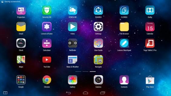 Yoga Tablet 2 Screen Pic4