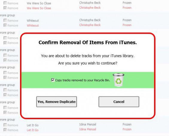 Competition   Managing your iTunes Library with Tune Sweeper