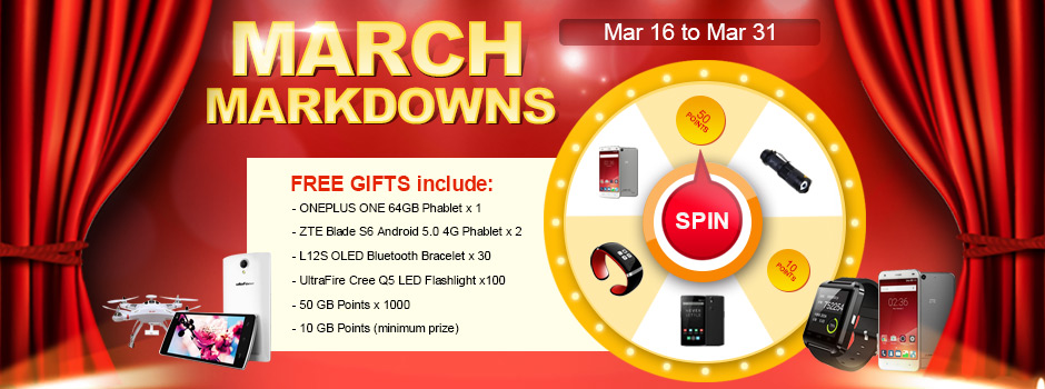 March Markdown   A gadget lovers paradise.