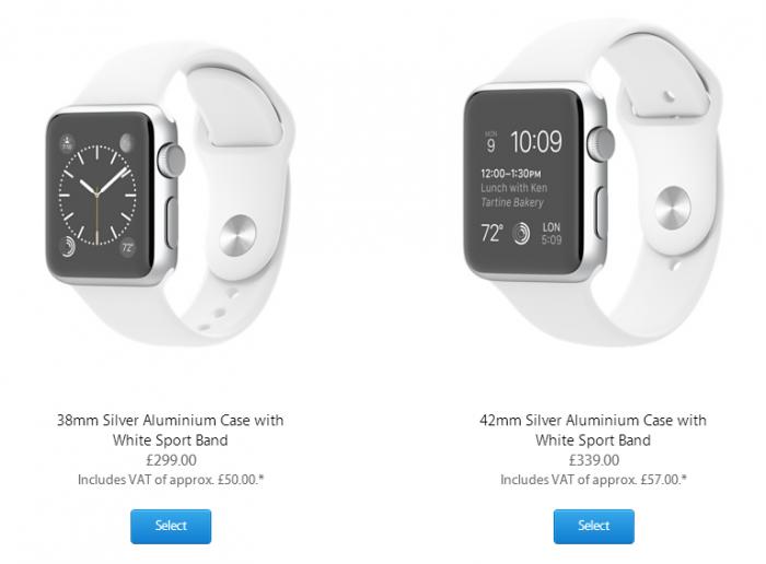 Apple Watch VAT