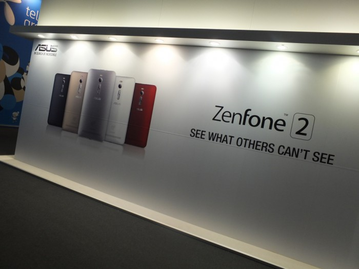 MWC – Hands on with the Asus Zenfone 2