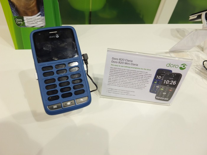 MWC   Doro announce a smartphone for Blind People