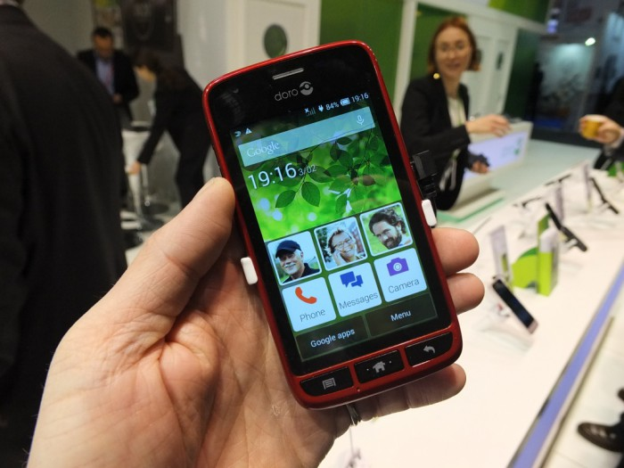 MWC – Hands on with the Doro Liberto 820 Mini