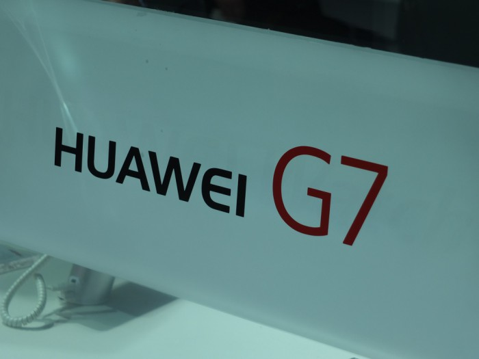 MWC – Hands on with the Huawei Ascend G7