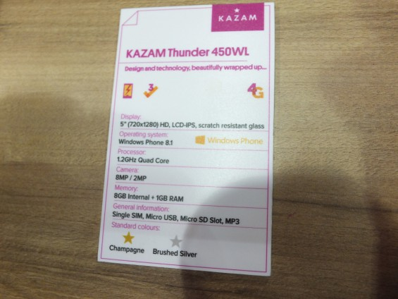 Kazam Thunder 450WL Pic15