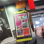 MWC – An afternoon with Kazam and their Windows Phones