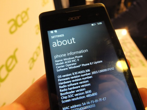 MWC Acer Devices pic66