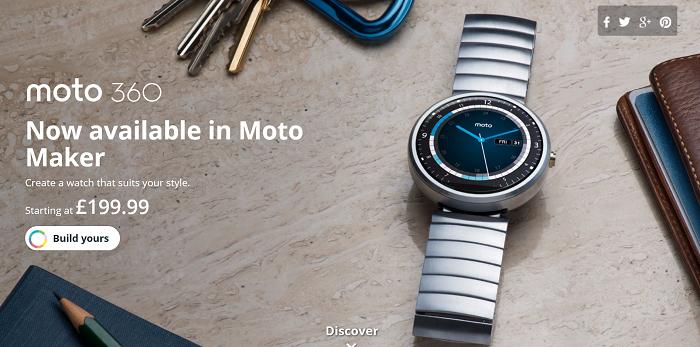 Motorola announce the Moto G 4G and Moto Maker for Moto 360
