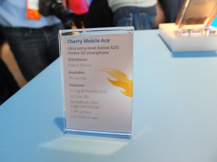 MWC - An evening with Mozilla and Firefox OS - Coolsmartphone
