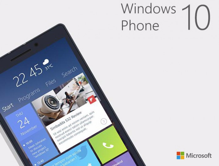 New Start Screen and Interactive Tiles Show Up in Windows Phone 10 Concept 468834 2