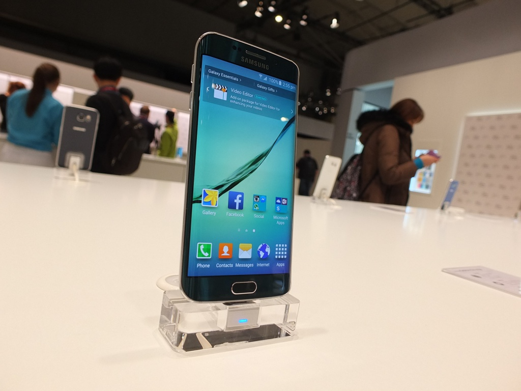 MWC – I finally got round to seeing the Samsung Galaxy S6 & S6 Edge