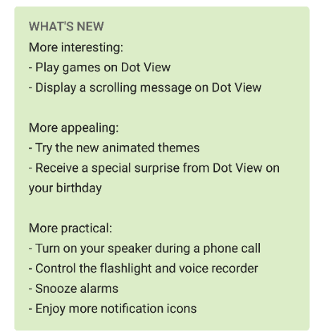 HTC update their Dot View app with some rather cool new features