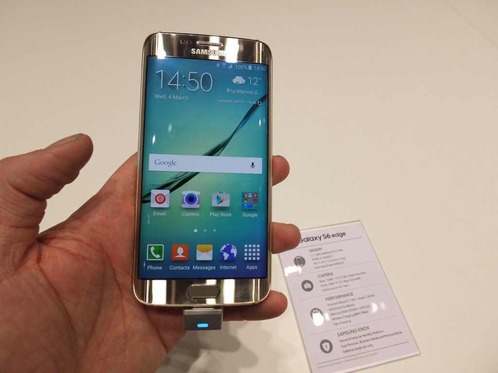 samsung galaxy s6 and s6 edge yes they launched today. Black Bedroom Furniture Sets. Home Design Ideas