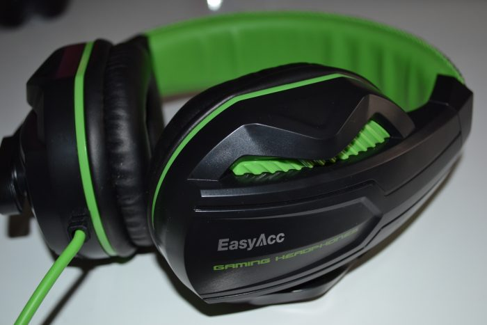 EasyAcc two channel stereo gaming headphones review.