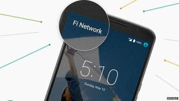 Googles Project Fi to run on 2 networks
