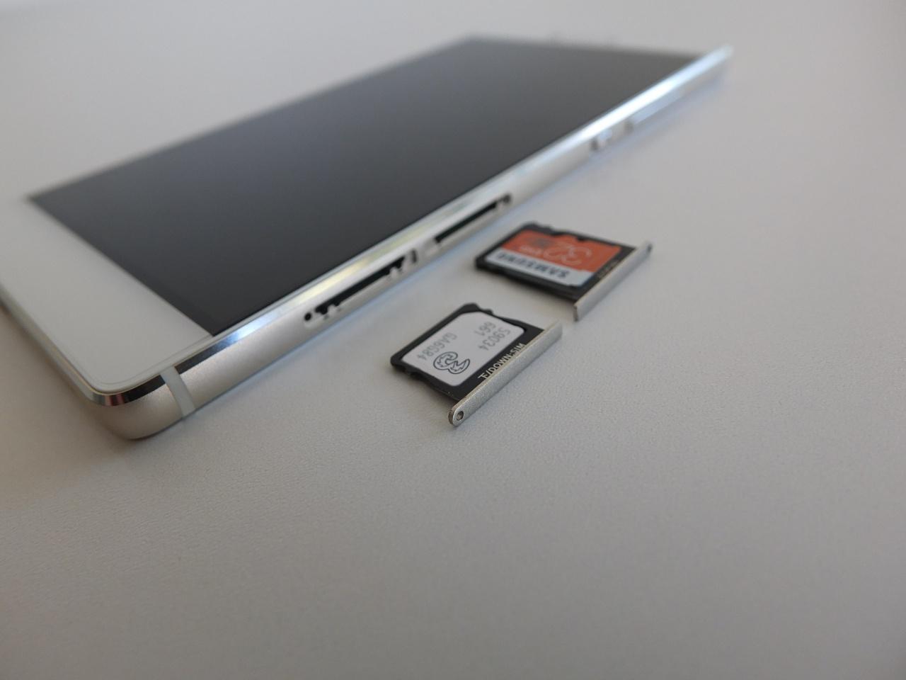 Huawei p8 lite memory card