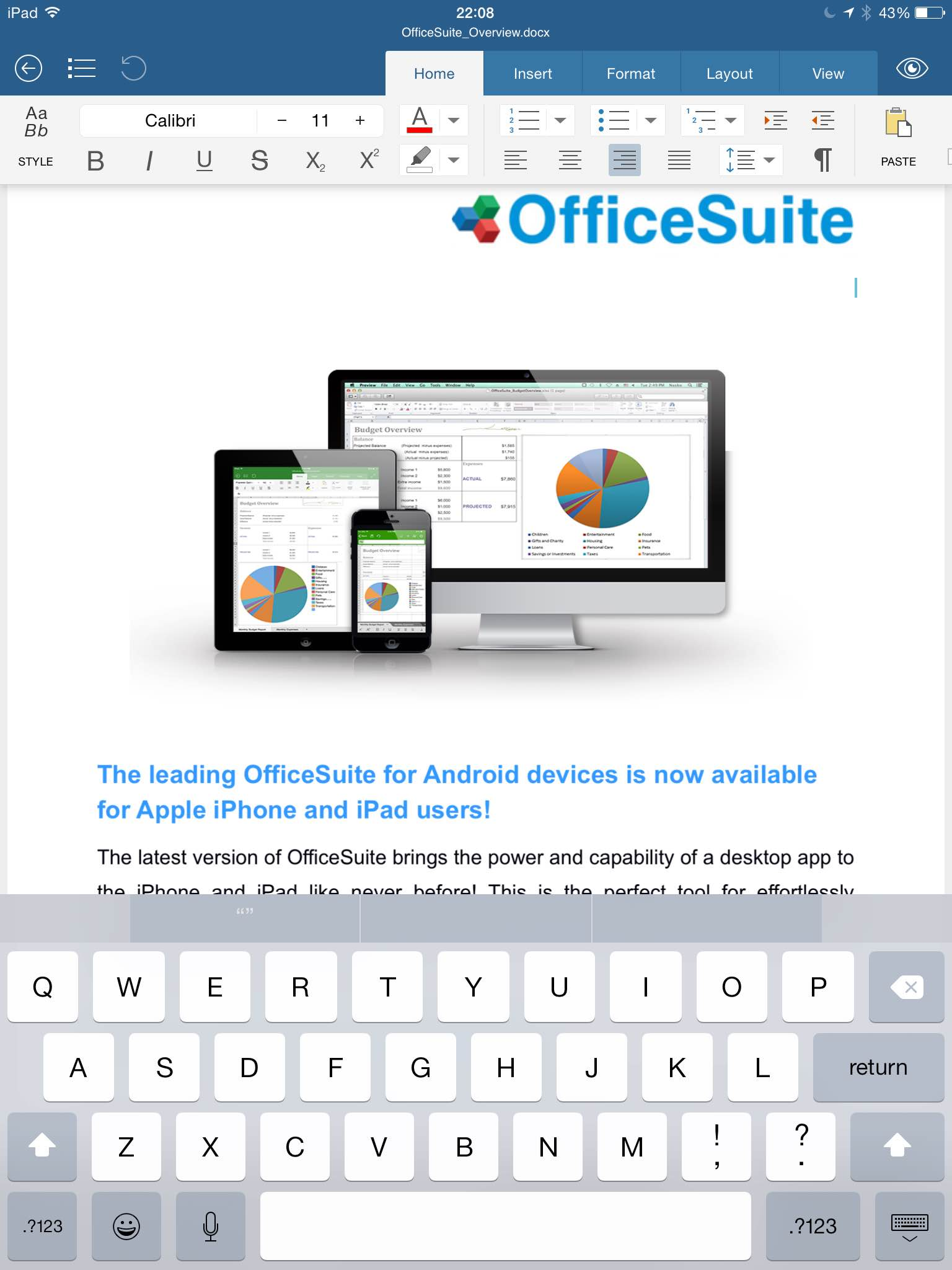 Officesuite Free Review Coolsmartphone