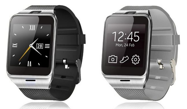 GV18 Aplus smartwatch phone, like the one I reviewed, but cheaper.