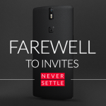OnePlus Invite system is over.