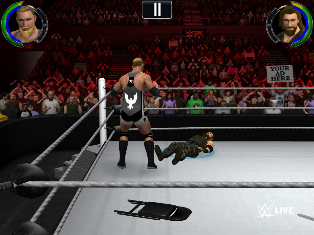 WWE 2K is avail...