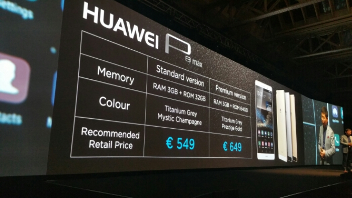 Huawei announce the P8 and P8 Max