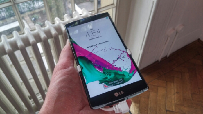 LG G4 Hands on. A quick video.