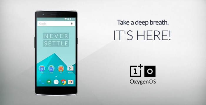OxygenOS for the OnePlus One now available