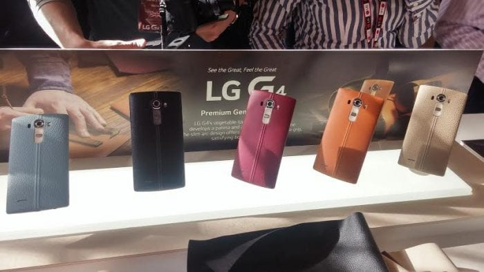 LG G4 Black leather option now exclusive to CarphoneWarehouse.