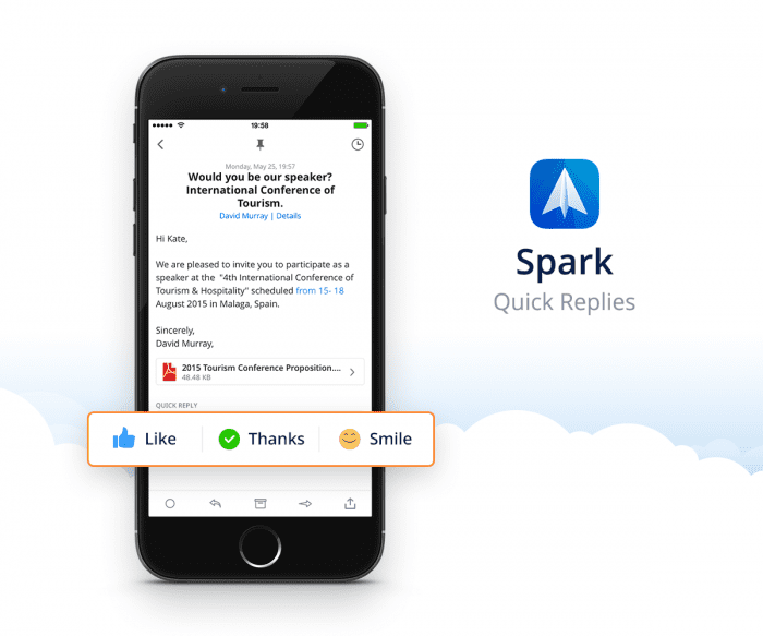 Spark – Lightning Fast Email on your iPhone