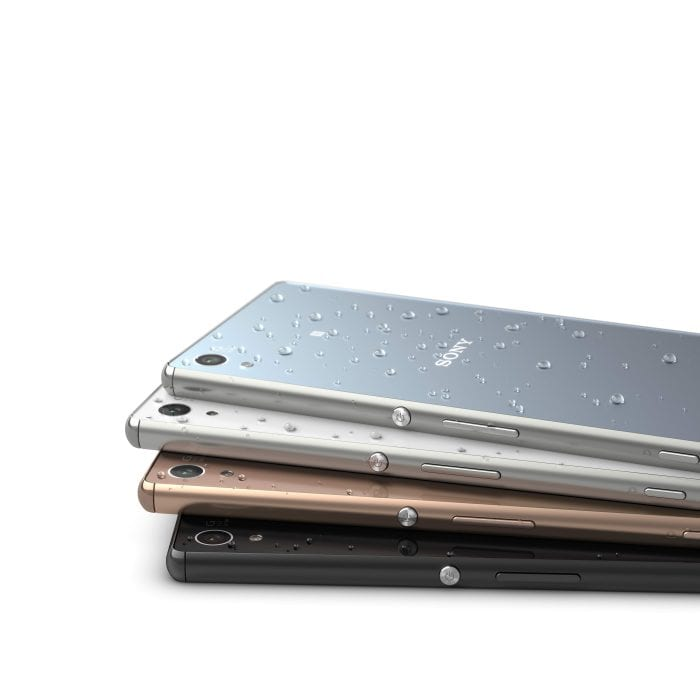 Xperia Z3+ colour range