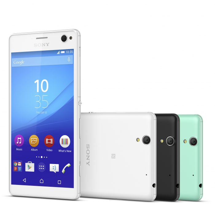 Sony reveal the Xperia C4 proSelfie phone