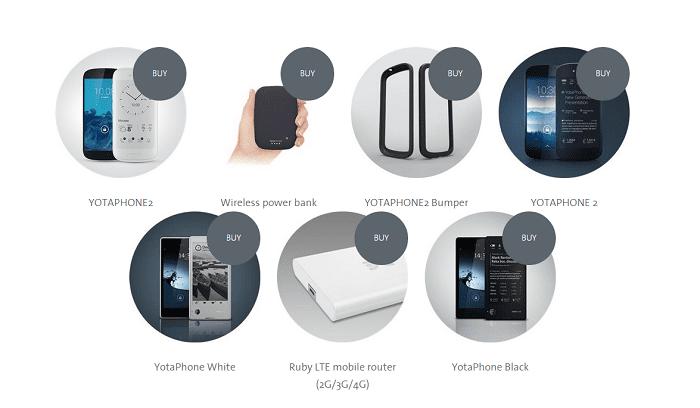 YotaPhone 2 White