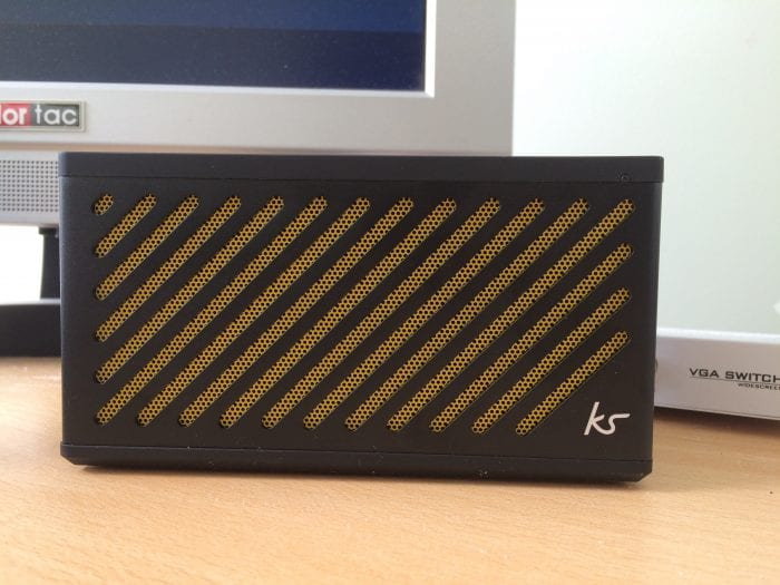 KitSound Tilt Bluetooth Portable Speaker   Review