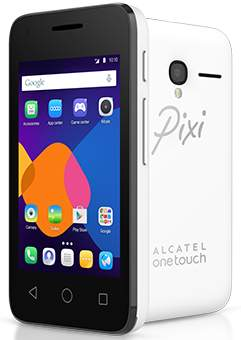 A £20 smartphone. The Pixi 3 from Alcatel OneTouch