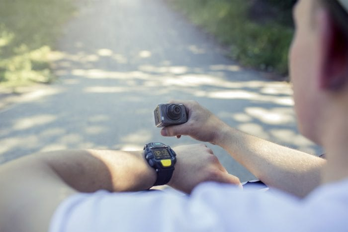 4GEE Action Cam   BMX Watch Review