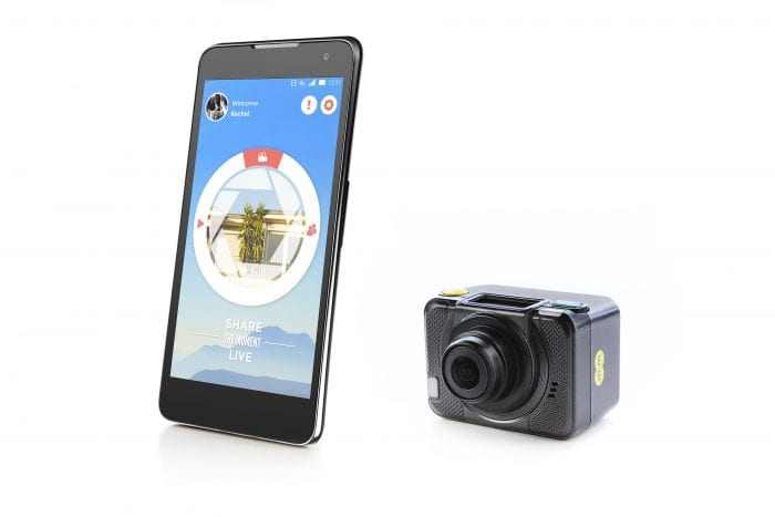 EE announces 4G action camera
