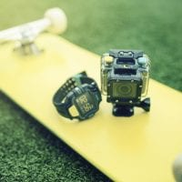 4GEE Action Cam - Skateboard, Camera & Watch
