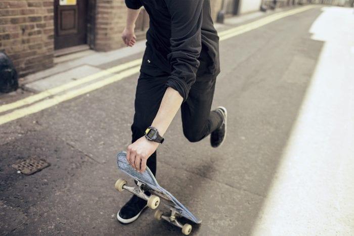 4GEE Action Cam   Skater Running & Viewfinder Watch