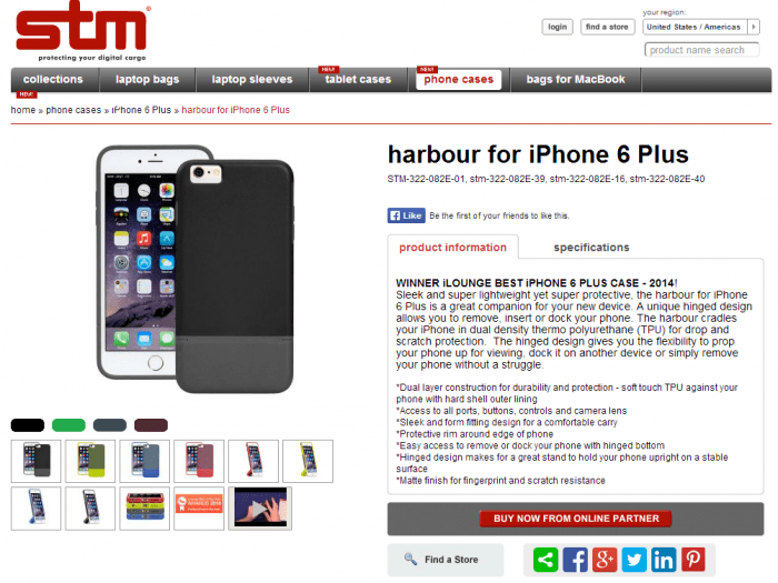 Review of the STM Harbour protective case for iPhone 6 Plus